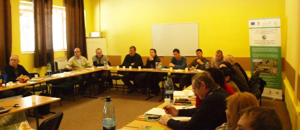 Management Plan, Information campaign, education and awareness for the Lower Ciuc Basin Natura 2000 Site - Press conference